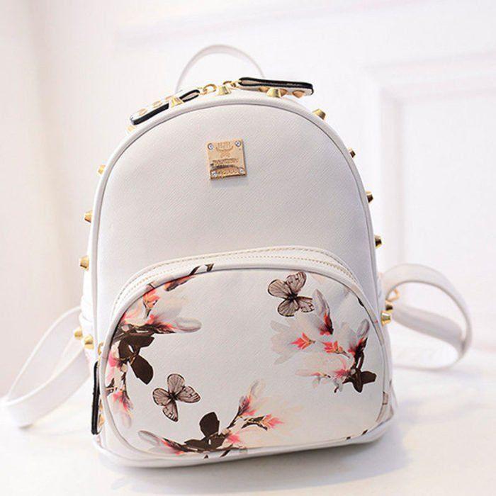 15 Estilos de mochilas ideales las chicas que siempre cargan muchas ... 0d78e5146d1