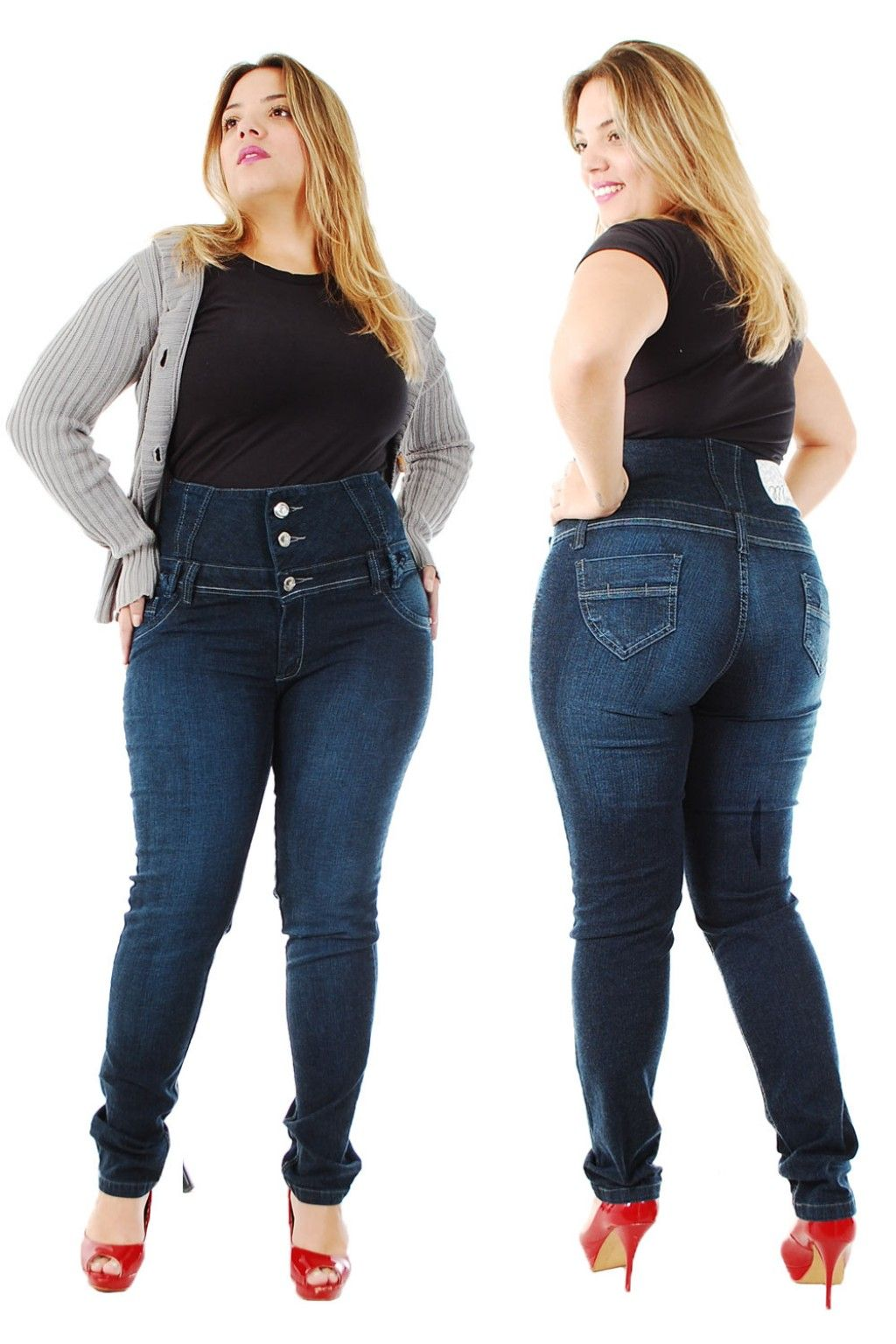 """ffb09102cfcdbd Throw Away your """"Fat"""" Jeans And Get Plus Size Jeans That Fit Your Sexy  Curves 