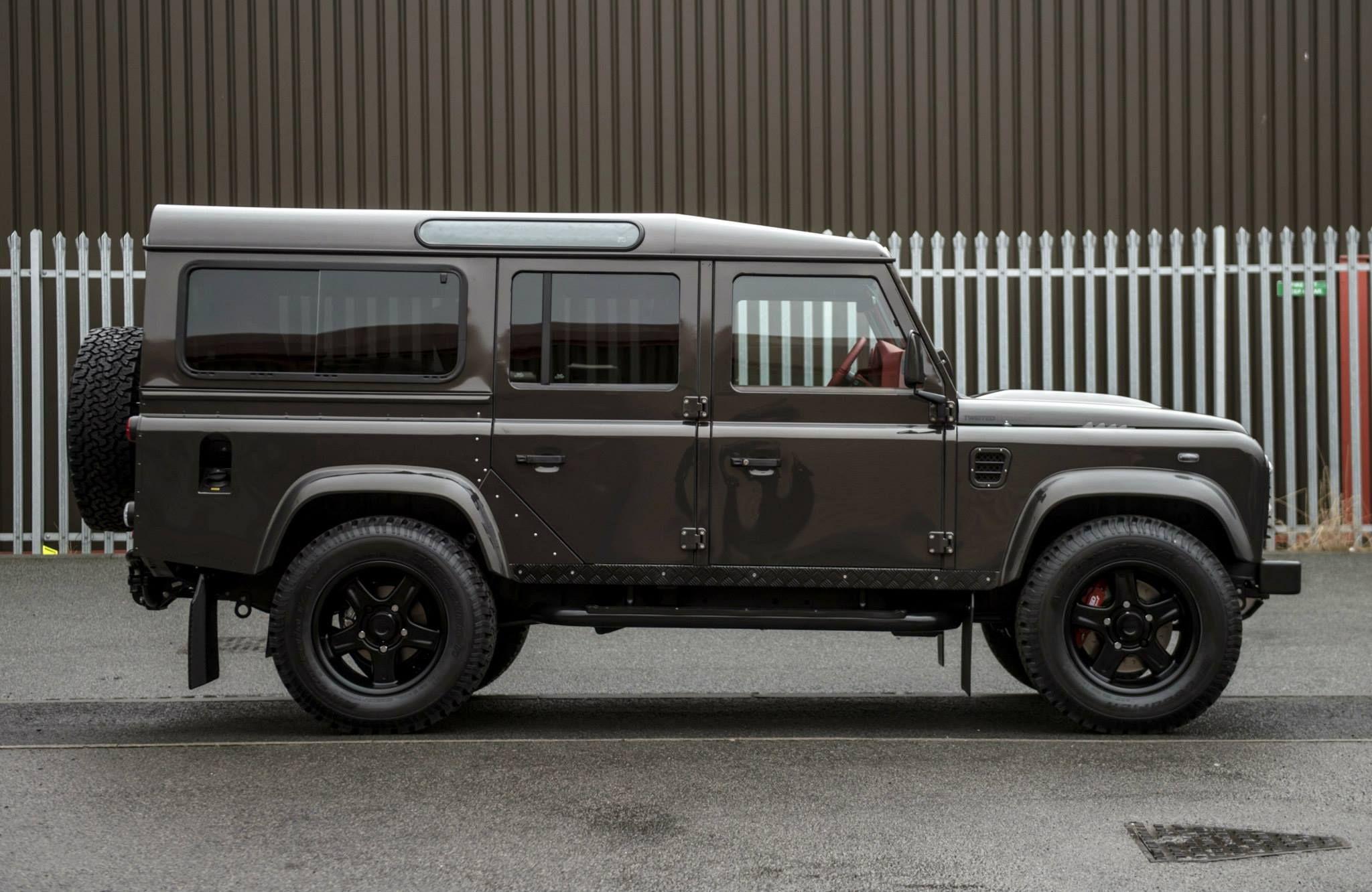 2013 land rover defender by kahn design youtube - Twisted 110 Land Rover Defender Understated Exterior Styling