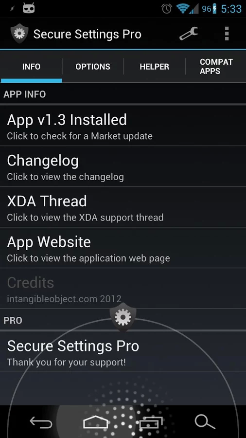 Secure Settings Pro v1 3 3 apk Requirements: 2 2 and up Overview