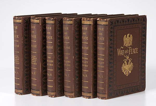 Lot # 116 - First American Edition War and Peace,