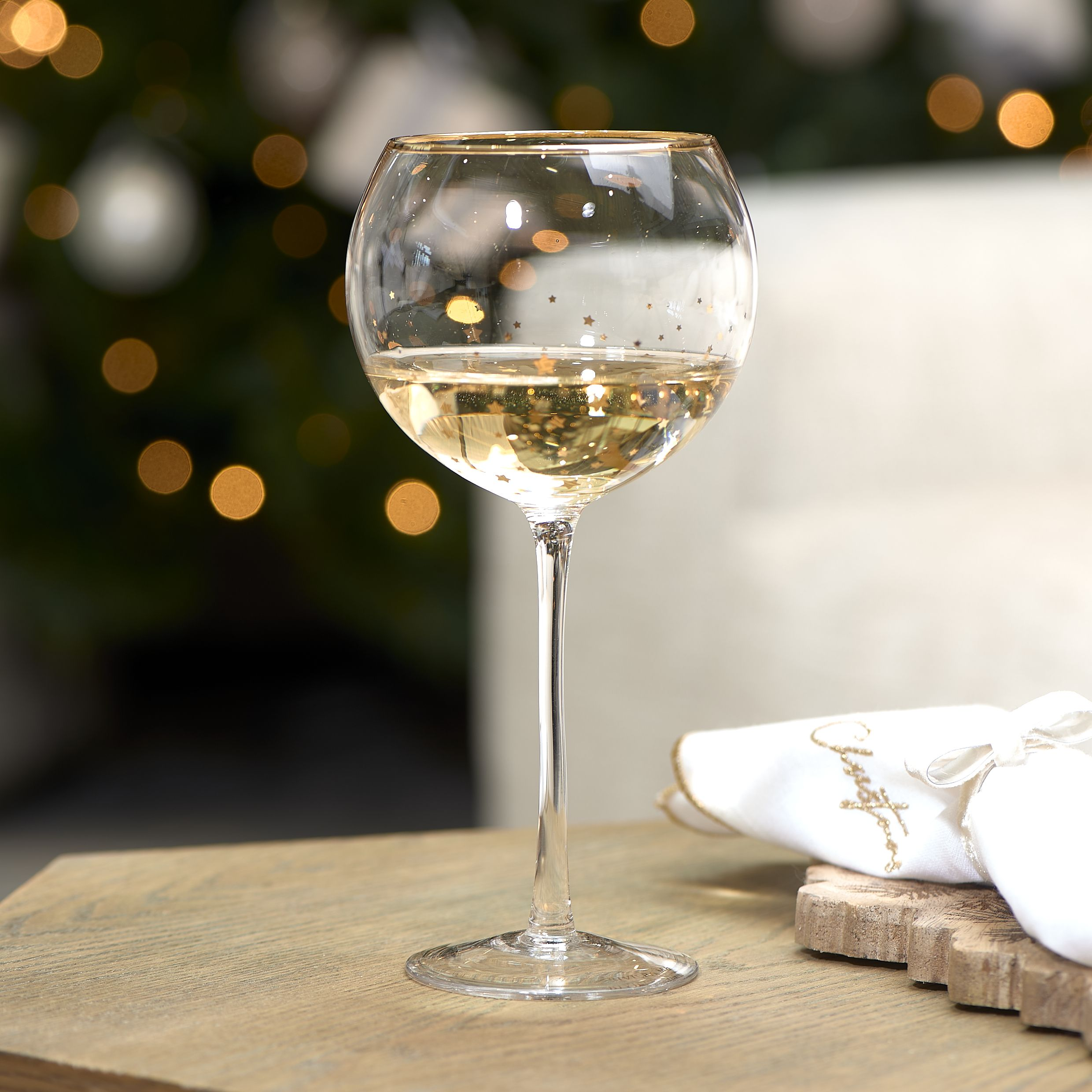 Nigh Before Christmas 2020 Glass Riviéra Maison | Starry Night Wine Glass in 2020 | Wine glass