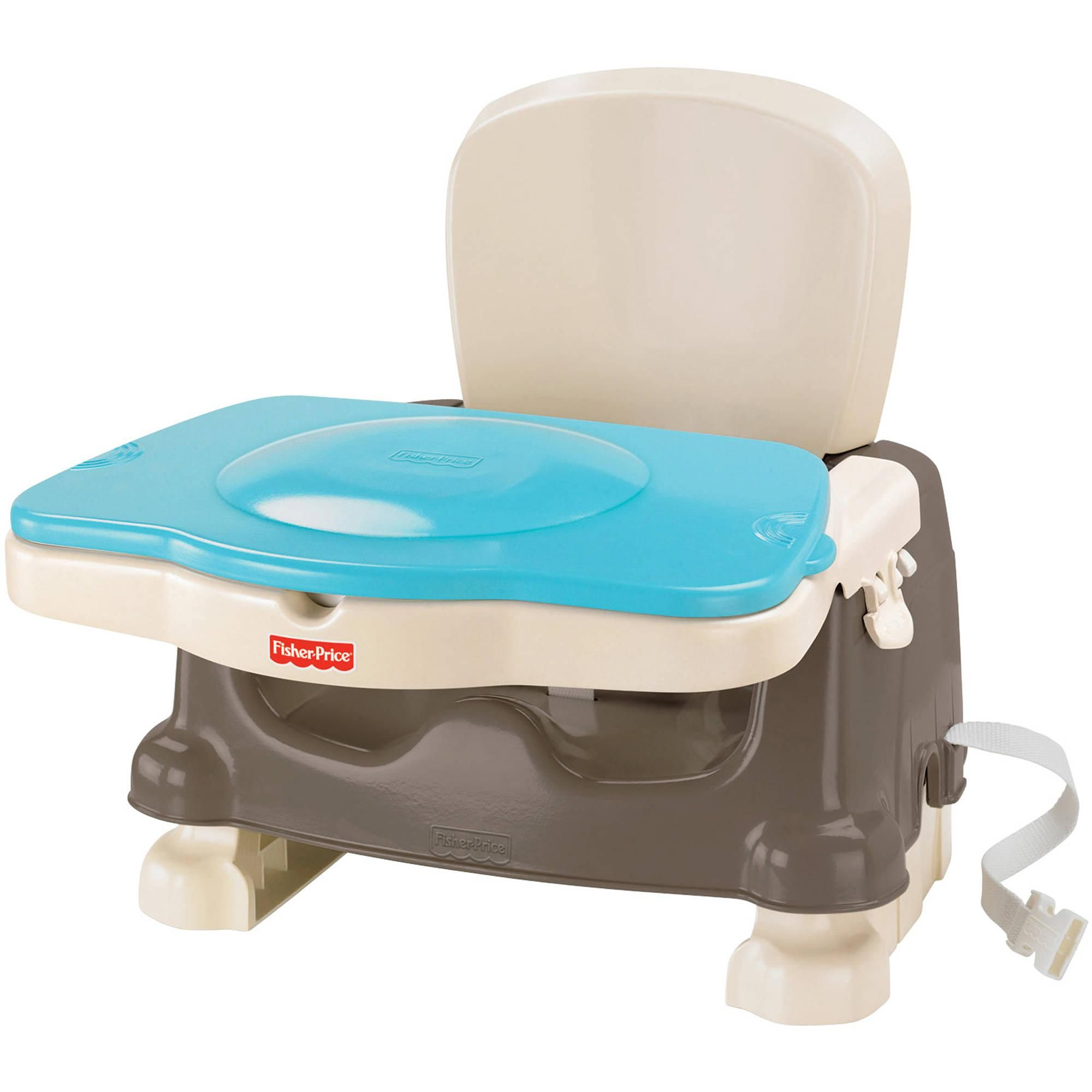 Booster Seat Or High Chair Which Is Better Cast Iron Chairs This Works Than A And It Doesn T Take Up That Much Space