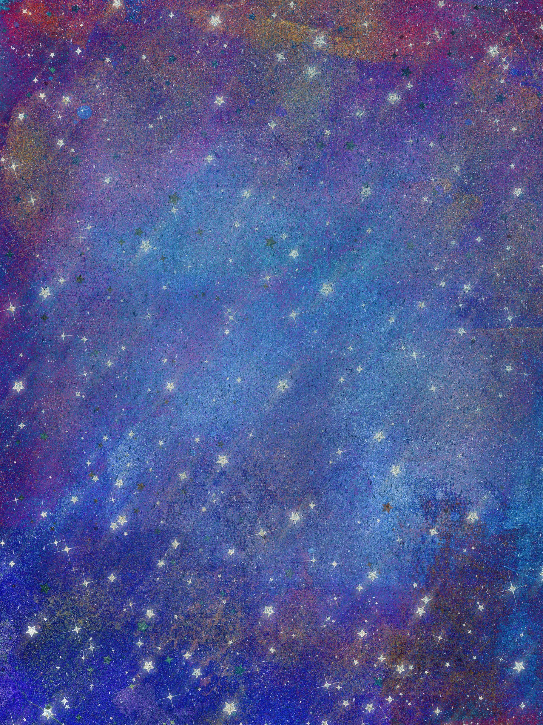 Vinyl 9X6FT Colorful Fantasy Space Landscape Red Planet Sky Mountain Illustration Backdrop Bokeh Starry Night Photography Background Kids Adults Photo Studio Props