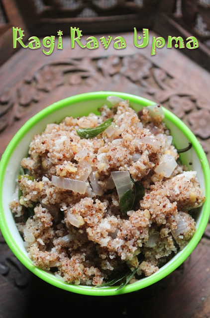 Ragi Rava Upma Recipe | COMPLETE RECIPE COLLECTION - YUMMY