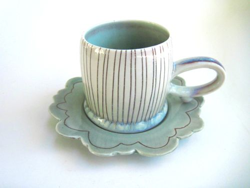More new work! www.etsy.com/shop/silverliningceramics By Katie Marks