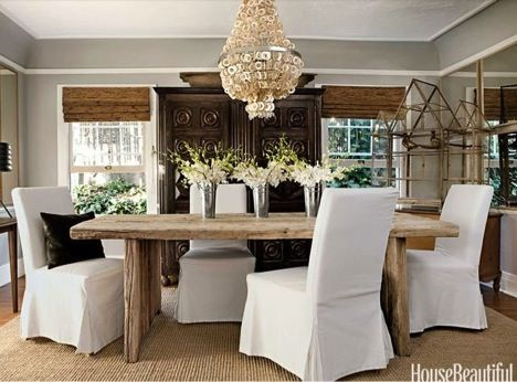 Glam Farmhouse Decor Farmhouseglam1 Farmhouse Dining