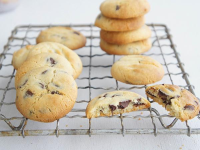 Cafe Choc Chip Cookies Recipe Choc Chip Cookies Coconut Chocolate Chip Cookies Banana Chocolate Chip