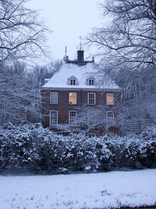 Rijnhuizen mansion, Netherlands Английские коттеджи