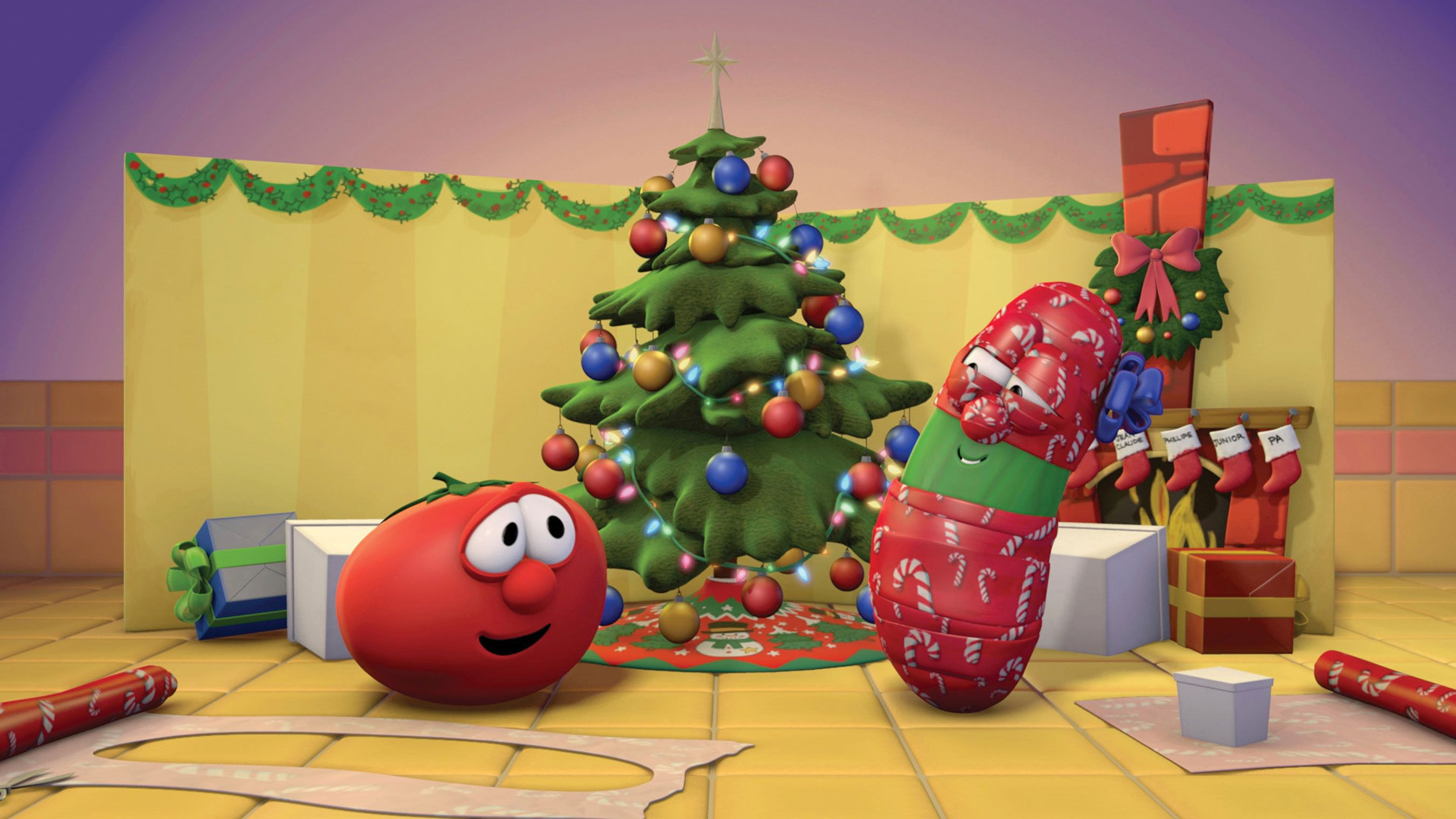 Kids Shows Veggie Tales Christmas spirit | { Christmas Ideas, Gifts ...