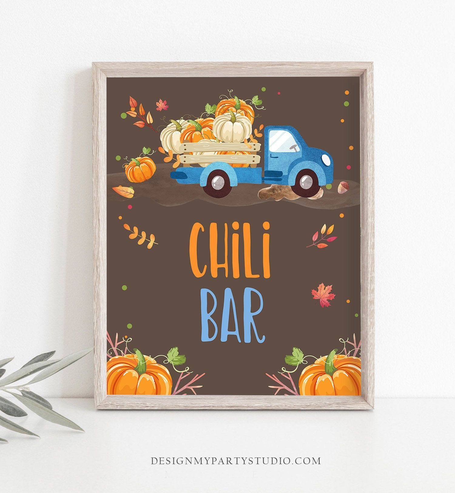Chili Bar Sign Pumpkin birthday sign Table sign Pumpkin party signs Decor Fall Party Autumn Blue Pumpkin Truck Pumpkin Decor PRINTABLE 0153 #chilibar Chili Bar Sign Pumpkin birthday sign Table sign Pumpkin party signs Decor Fall Party Autumn Blue Pumpkin Truck Pumpkin Decor PRINTABLE 0153 #chilibar