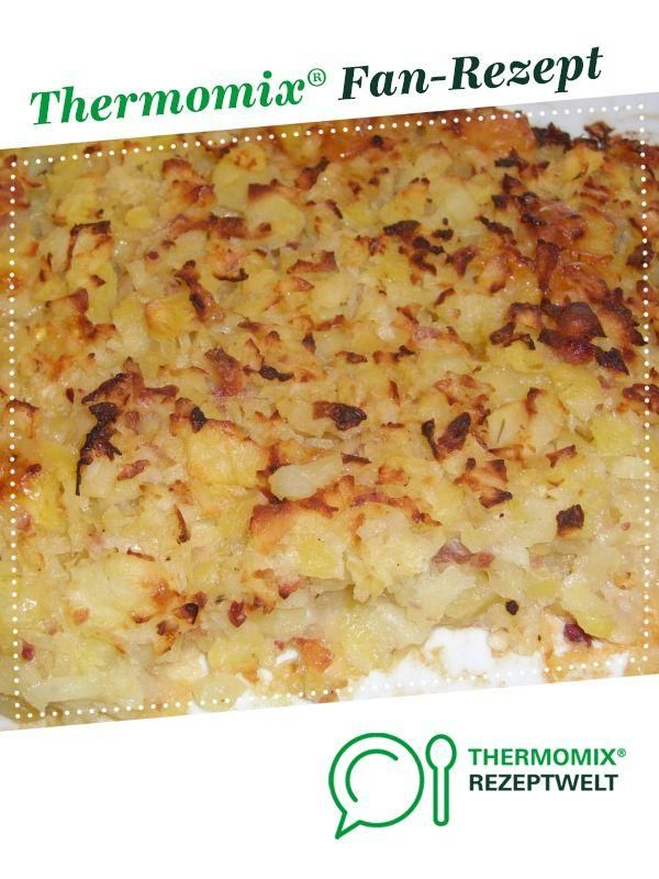 Oven rösti with bacon and onions - Thermomex -