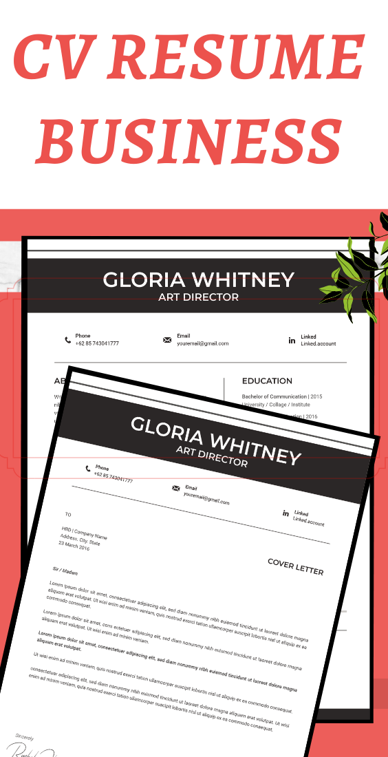 Resume template instant download,resume template word