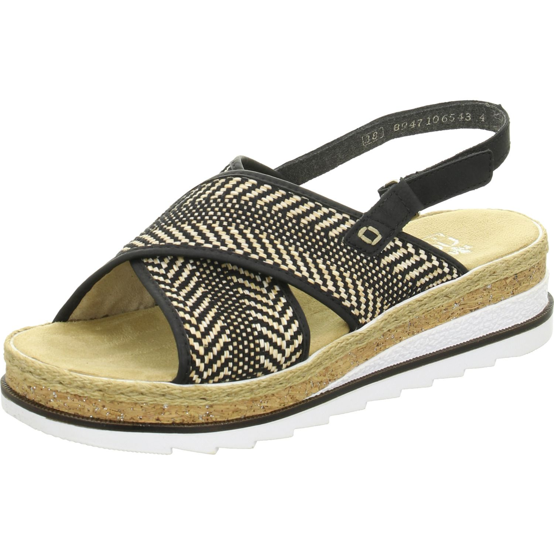 Dieser Schone Schuh Der Qualitatsmarke Rieker Und Der Farbe Bunt Ist Perfekt Jeden Anlass Geei Schuhe24 Sale Sandalen Schuh In 2020 Schone Schuhe Sandalen Damen