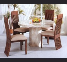 Jupiter Marble Round Dining Table Including 4 Chairs  Kitchen Entrancing Dining Room Table And Chairs For 4 Inspiration