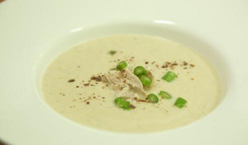 شوربة الدجاج بالكريمة Creamy Chicken Soup Recipes Soup Recipes Soup