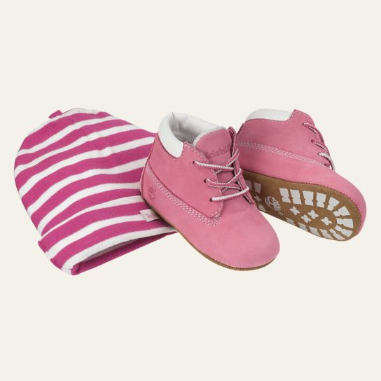 infant timberland boots with hat