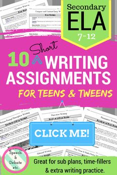 Expository writing for teens