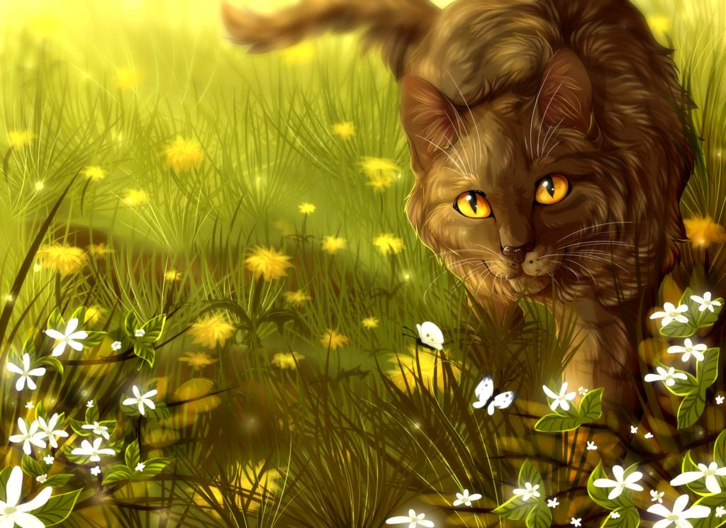 Výsledek obrázku pro warriors cats brambleclaw and squirrelflight