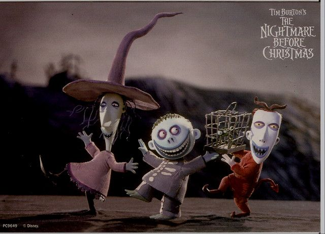 lock shock and barrel from the nightmare before christmas - Nightmare Before Christmas Lock Shock And Barrel