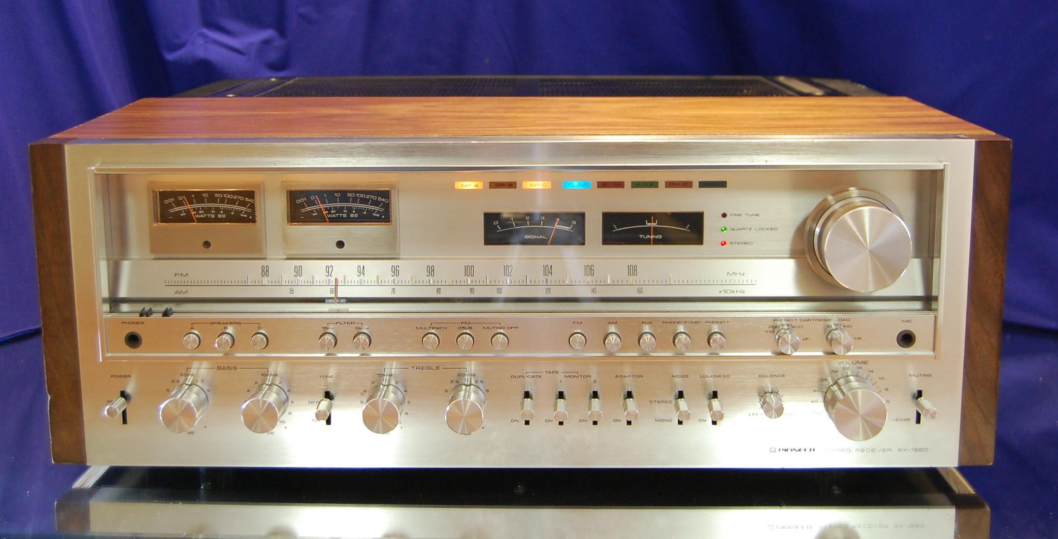 Pioneer sx 1980 for sale click to enlarge a sound for Mobiletto per impianto hi fi