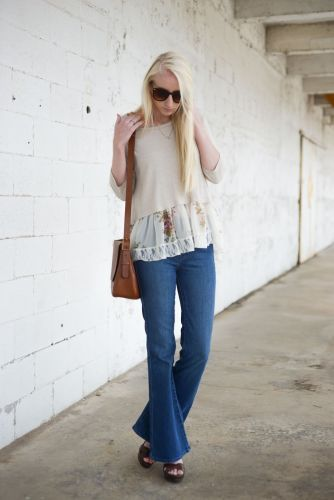 Ideas for women on how to style sheer clothes  | For more style inspiration visit 40plusstyle.com