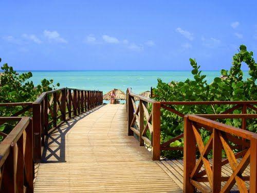 Panoramio Photo Of Boardwalk To The Beach From Blau Varadero Varadero Cuba Cuba Beaches Varadero