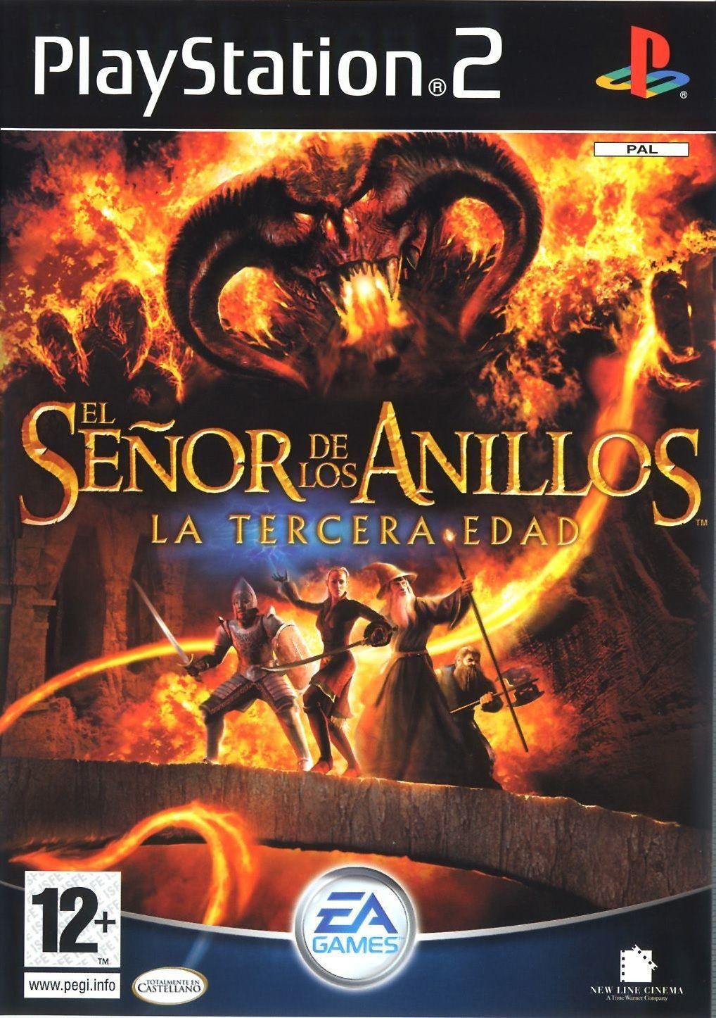 El Señor De Los Anillos La Tercera Edad 2004 Jogos De Playstation Playstation 2 Jogo Da Vida