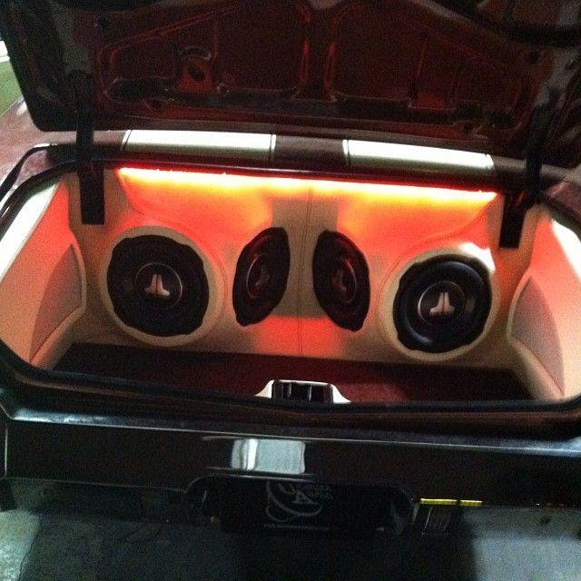 Cutlass Convertible Enclosure Car Stereo Trunk Install Jl