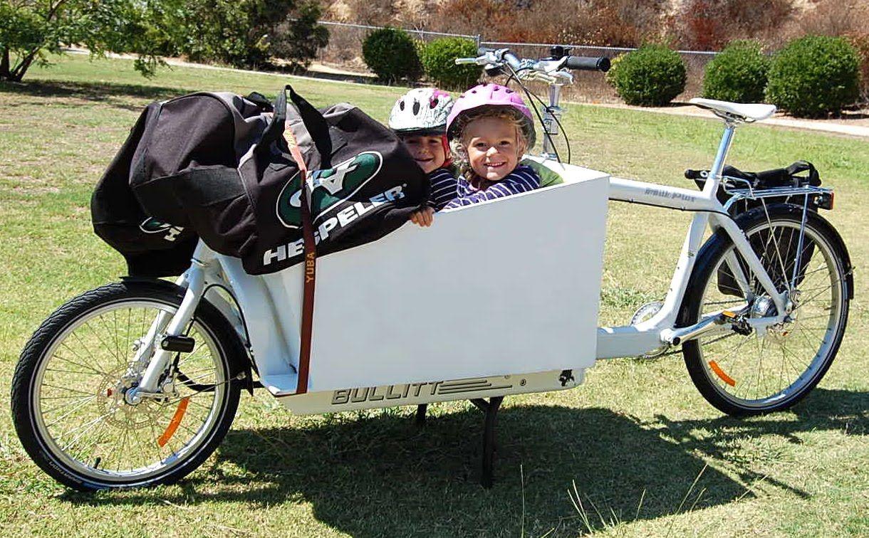 Blogger Bullitt Cargo Bike Cool Bicycles Cargo Bike