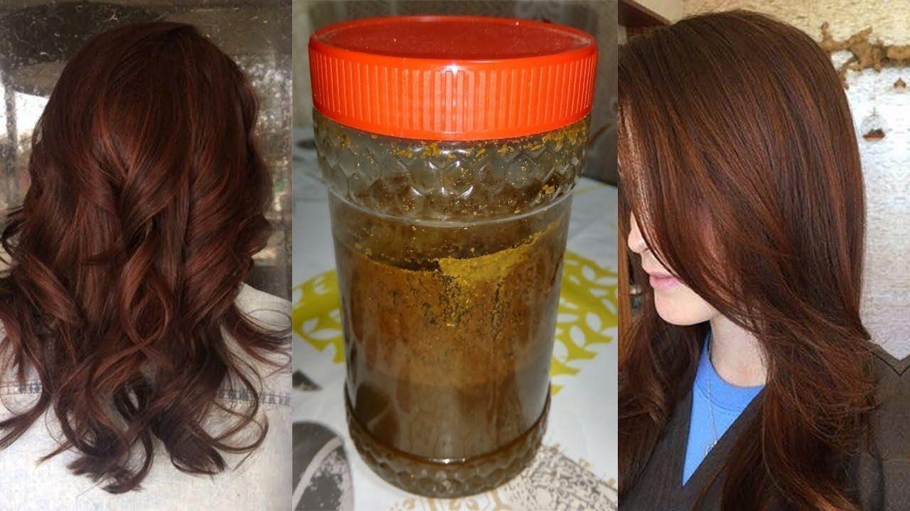 تخلصي من الشيب بالوصفة السحرية والمجربة صباغة الشعر طبيعيا بالبني والنت Beauty Care Hair Care Long Hair Styles
