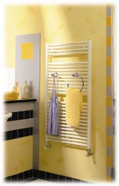 Radia Simple Elegance Hydronic Model Towel Warmer Towel Warmer