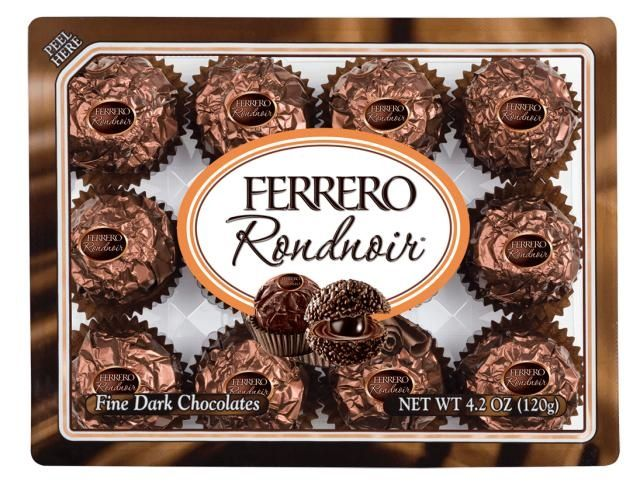 Ferrero Rocher Rondnoir Yum Try Chocolate Ferrero Rocher