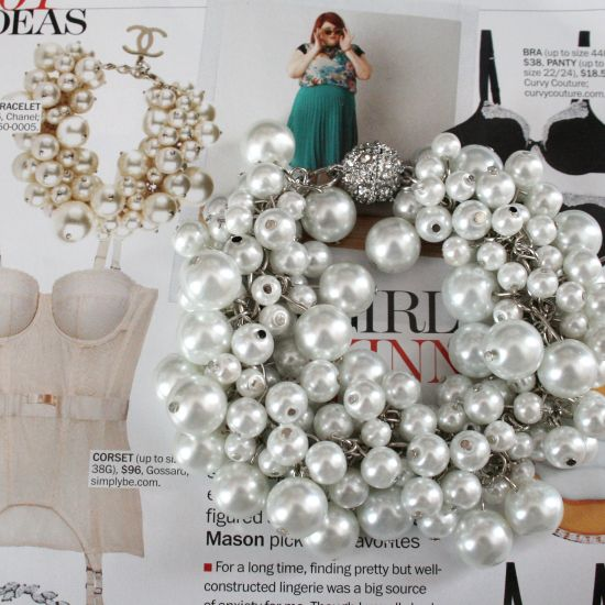 Diy Chanel Inspired Pearl Bracelet Jewelry Design Expensive