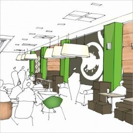 RVP foodcourt by Design Clarity