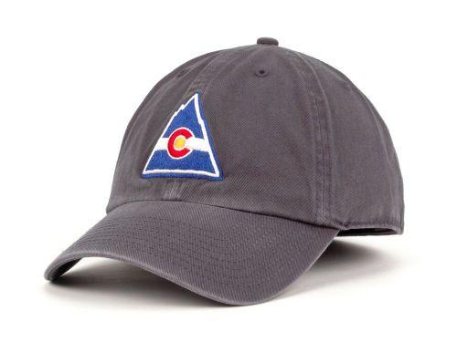 official photos 141fd ca007 Colorado Rockies 47 Brand NHL Vintage Franchise Hats