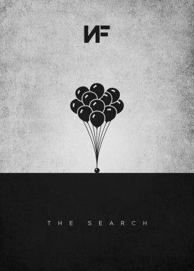 NF Balloons Pop Art Poster Print metal posters in 2020