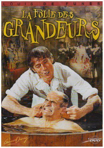 La Folie Des Grandeurs Dvd Louis De Funes French Films Film Inspiration Movie Covers