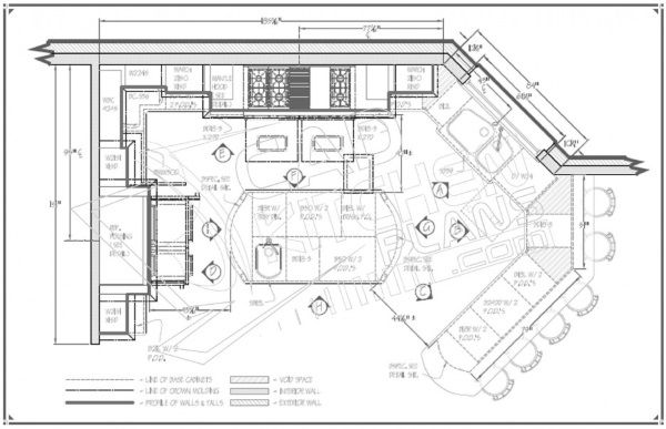 luxury kitchen floor plans - Luxury Floor Plans
