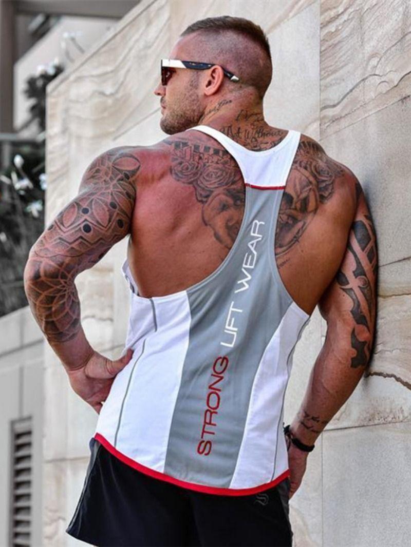 2315e7b5 2019 New Men Tank top Gyms Workout Fitness Bodybuilding sleeveless shirt
