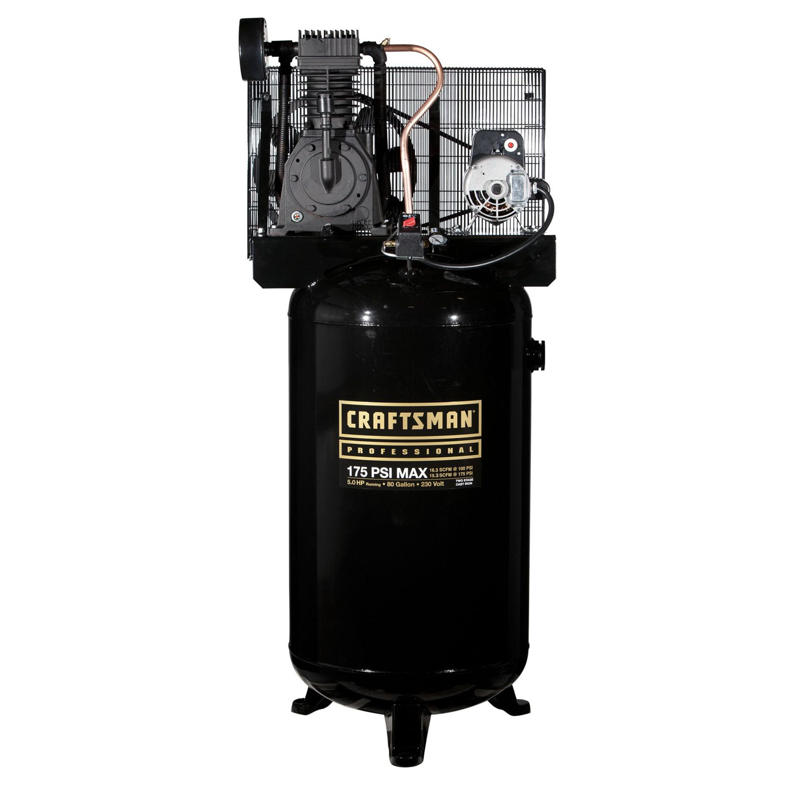 Craftsman Professional 80 Gallon 2 Stage Air Compressor Tools Air Compressors Air Tools Air Comp Craftsman Craftsman Air Compressor Air Tools