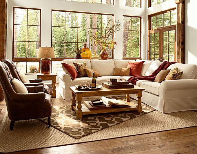 Pottery Barn Catalog Living Room Design Inspiration Pottery