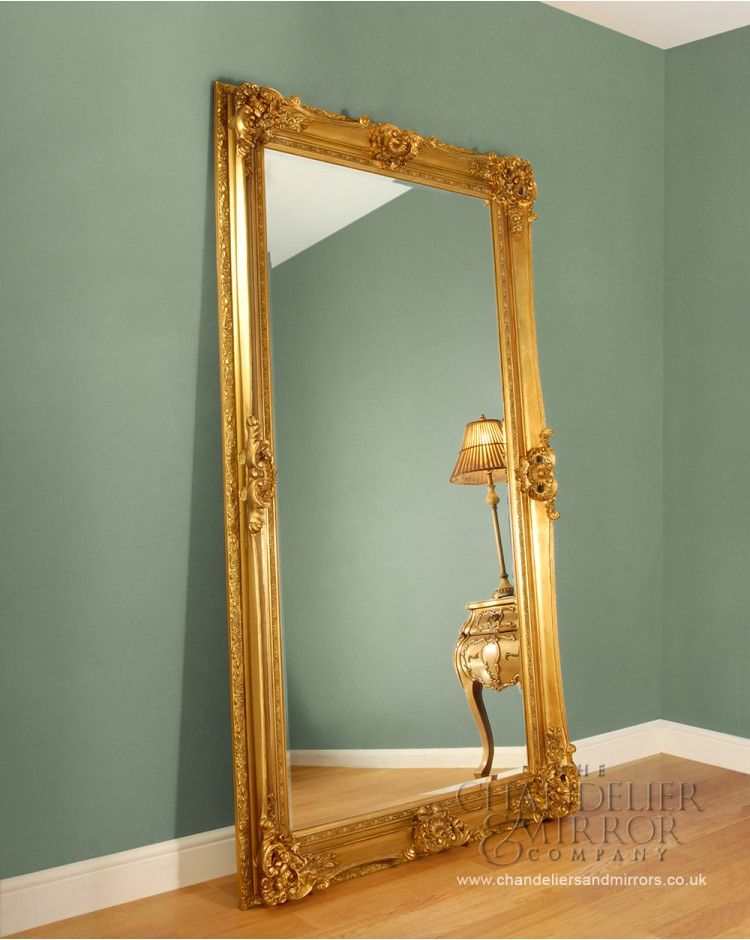 I Want A Big Standing Mirror Like This Beeches Gold Floor Mirror Gold Mirror Living Room Leaner Mirror