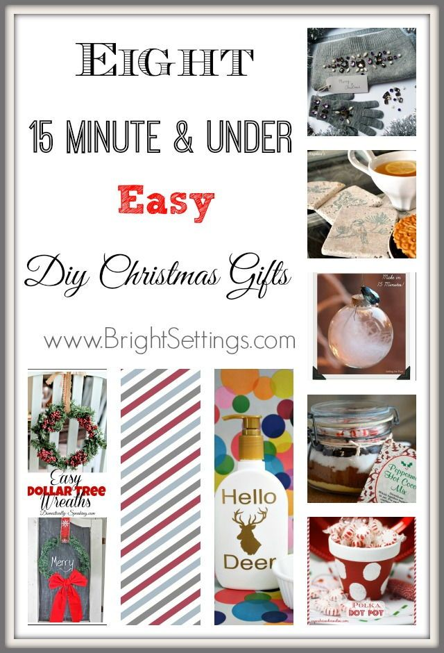 Eight 15 minute and under easy christmas gifts like red white eight 15 minute and under easy diy christmas gifts bright ideas solutioingenieria Gallery