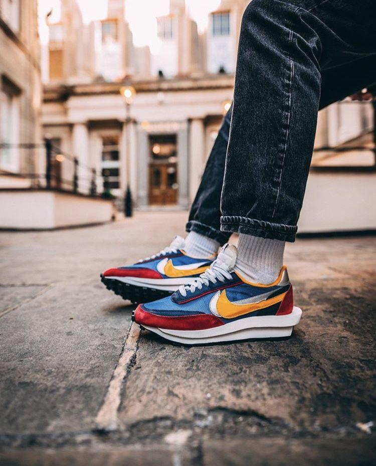 Sacai x Nike LDWaffle | Sneakers looks