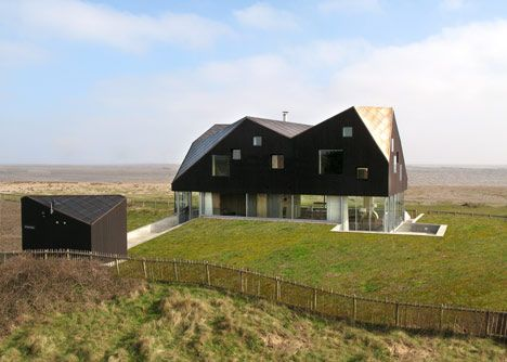 The Dune House, Thorpeness, Suffolk By Jarmund Vigsnaes Architects U0026 Mole  Architects