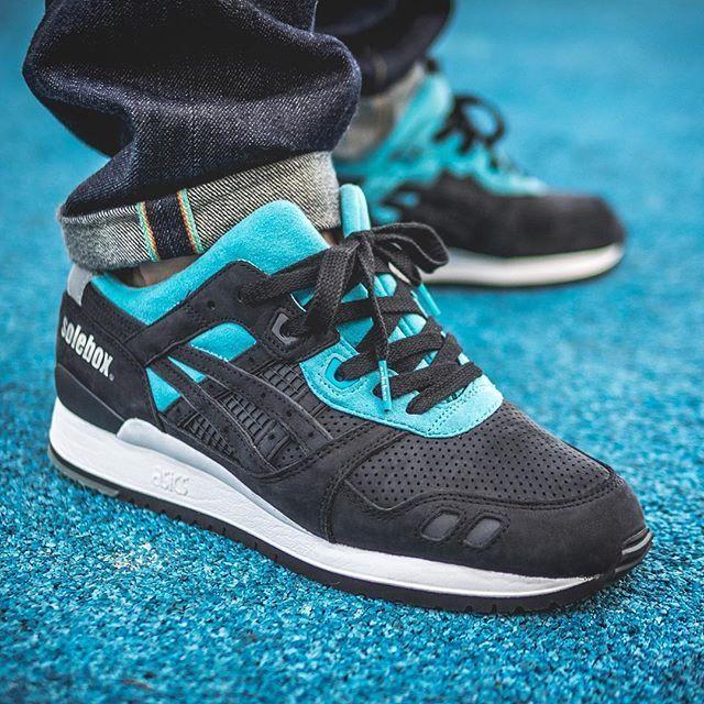 buty sportowe najniższa zniżka gorące wyprzedaże Solebox x Asics Gel Lyte III 'Blue Bee' | SHOES | Asics ...