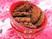 עוגיות שוקולד-צ'יפס נטולות גלוטן עם חומוס במקום קמח.