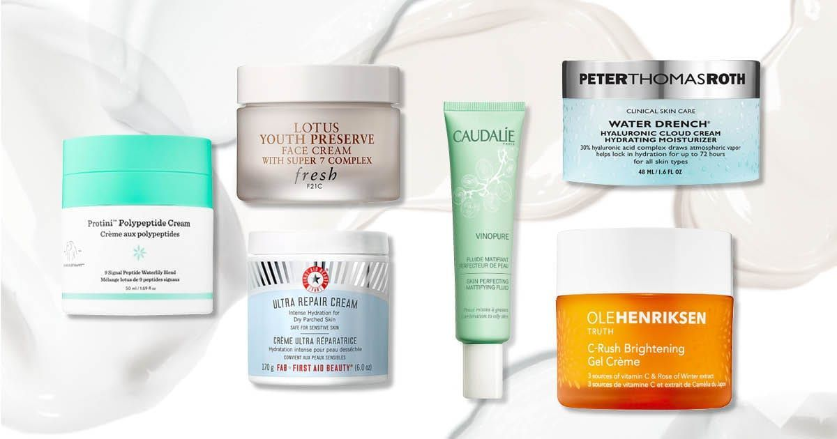15 Best Moisturizers For Oily Dry And Sensitive Skin Dehydration Best Moisturizer Moisturizer For Sensitive Skin Dehydrated Skin Remedies