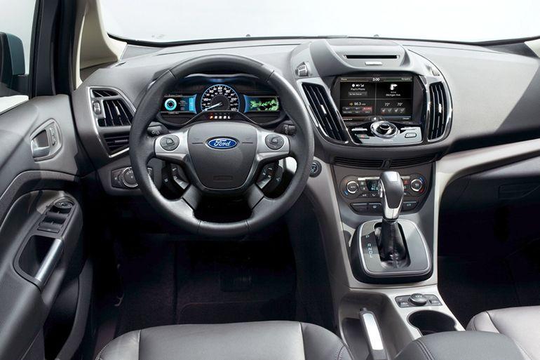 Toyota Prius V 2015 Vs Ford C Max 2015 Interior Images Ford C